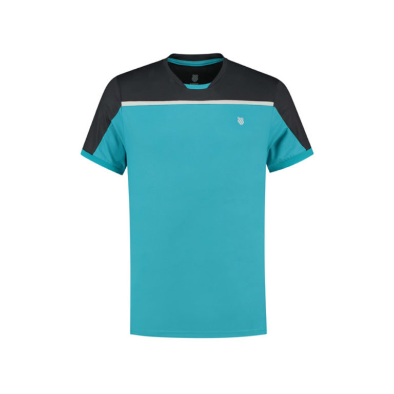 K-Swiss mens hypercourt tennis tee