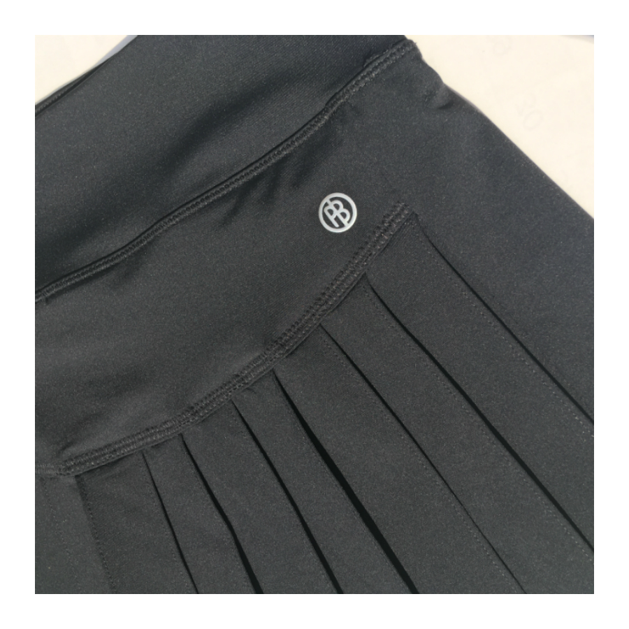 Poivre Blanc Tennis Ladies Skirt 2020 - black