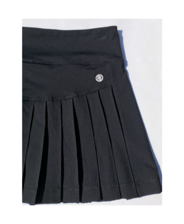 poivre blanc tennis ladies skirt 202 - black