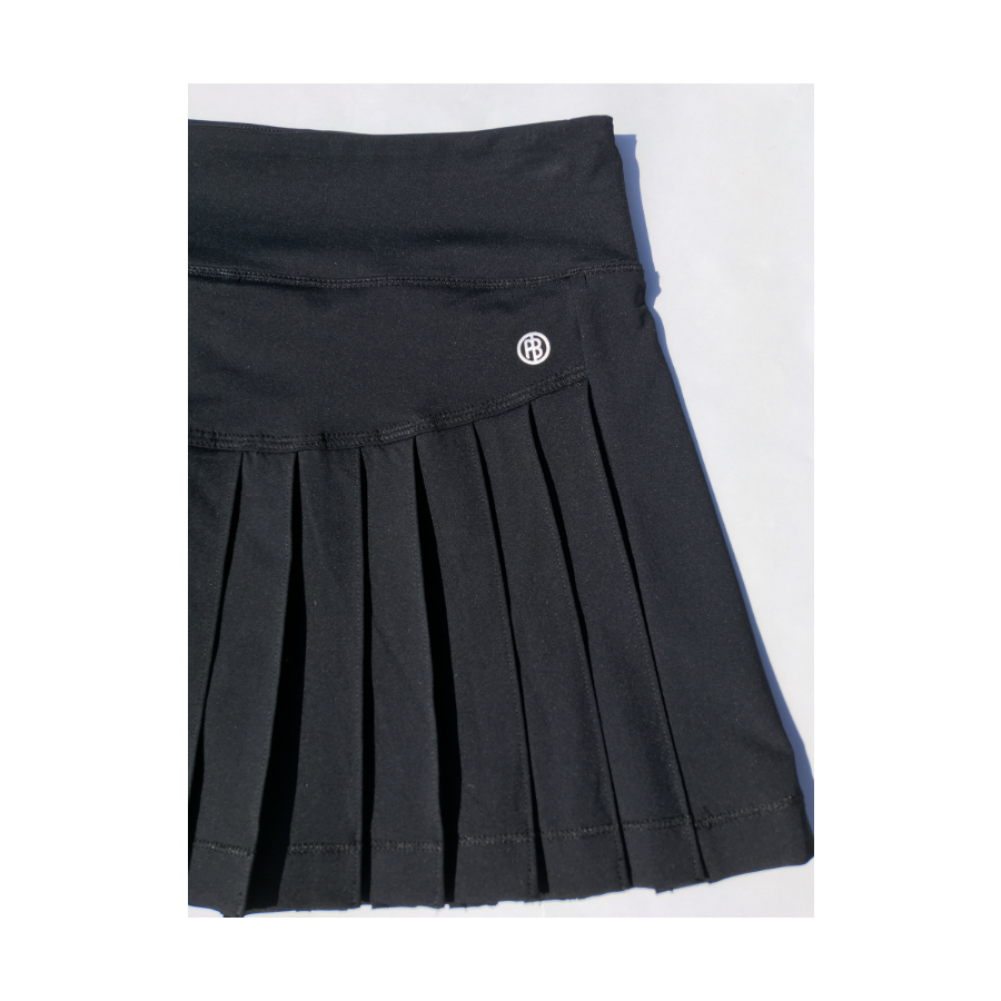 poivre blanc tennis ladies skirt 202 - black