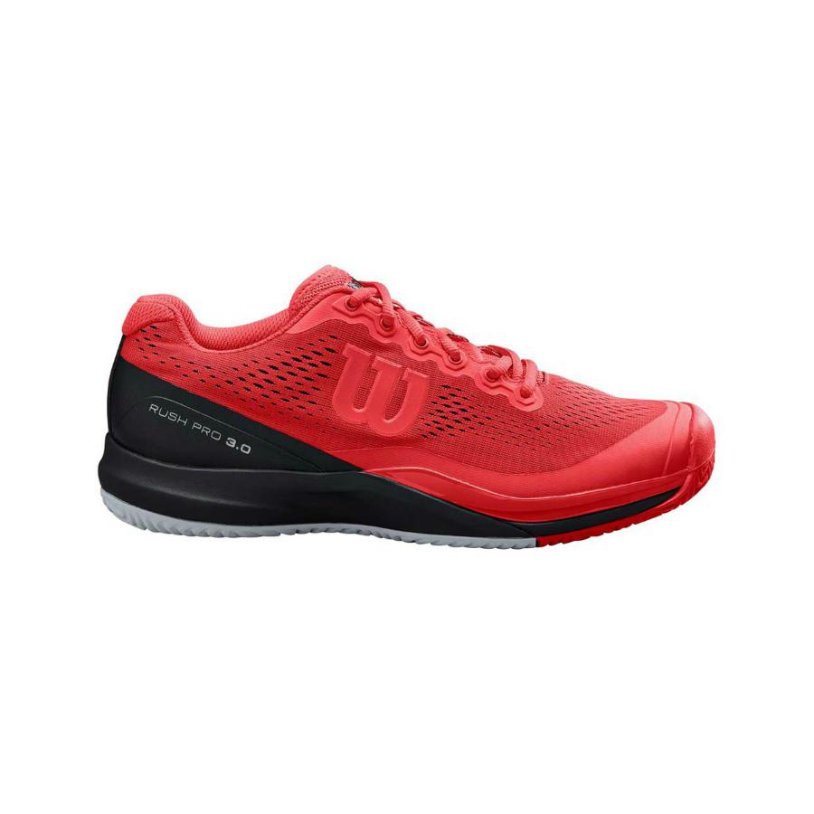 Wilson Rush Pro 3.0 Mens Tennis Shoe - Red