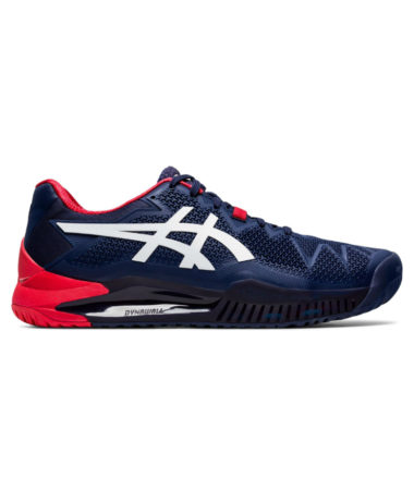ASICS GEL-RESOLUTION 8 MENS TENNIS SHOE 2020