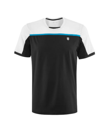 K-Swiss Mens Tennis Hypercourt Crew T-shirt