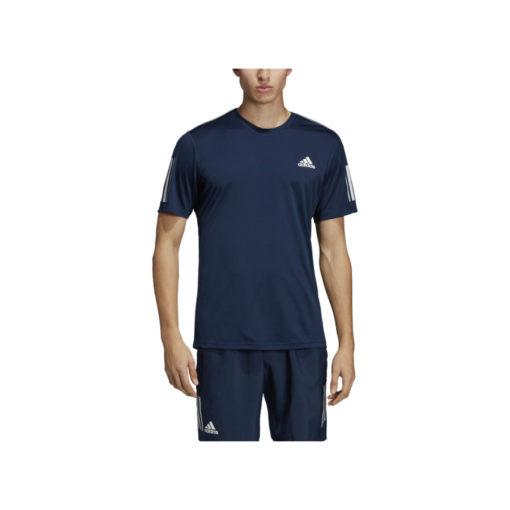 Adidas Mens Tennis Tee Blue