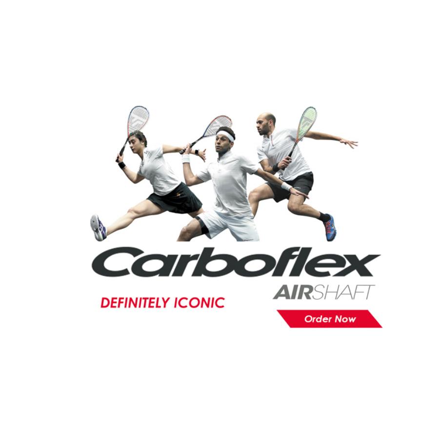 Tecnifibre Carboflex Airshaft Squash Rackets