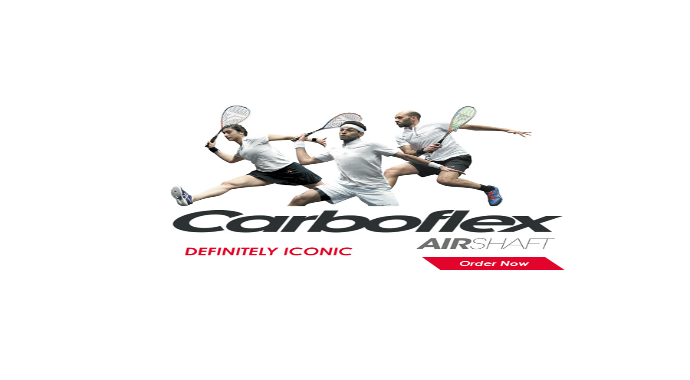 Tecnifibre Carboflex Airshaft Squash Racket
