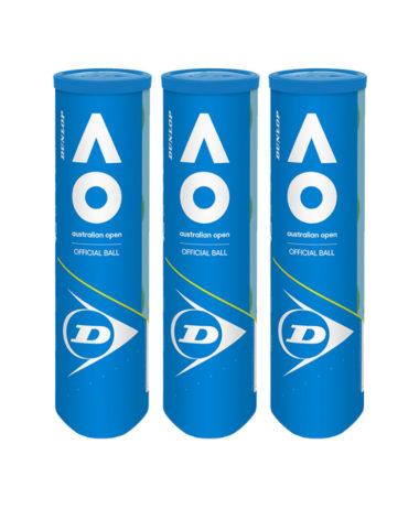 Dunlop Australian Open Tennis balls 2020