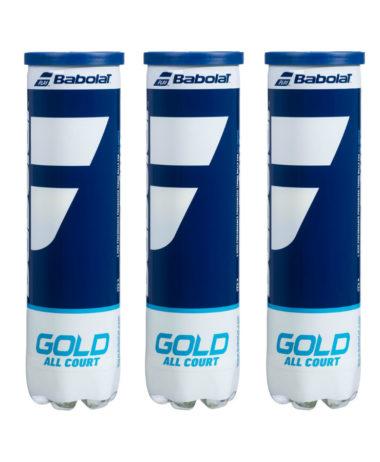 Babolat gold Tennis Balls - 1 Dozen