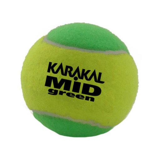 karakal mid green Tennis balls
