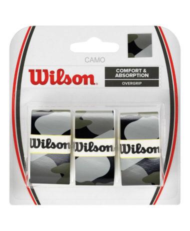 wILSON PRO OVERGRIP bLACK CAMO - 3 PACK