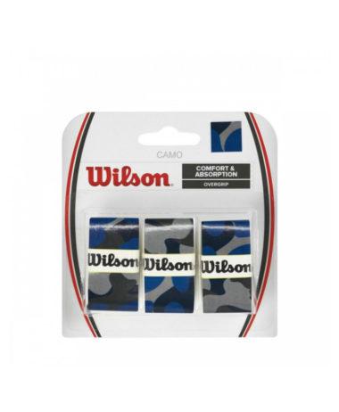 Wilson Pro Overgrip Blue Camo - 3 pack