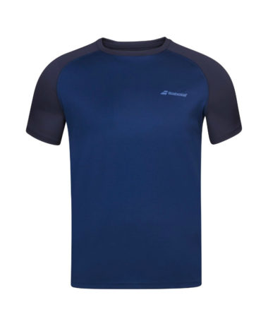 bABOLAT BOYS CREW NECK TENNIS TEE 2020
