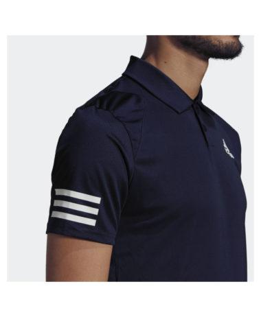 Adidas Club Tennis 3 Stripes Mens Polo