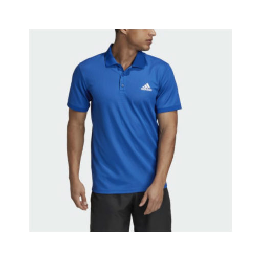 Adidas Mens Polo Royal Blue
