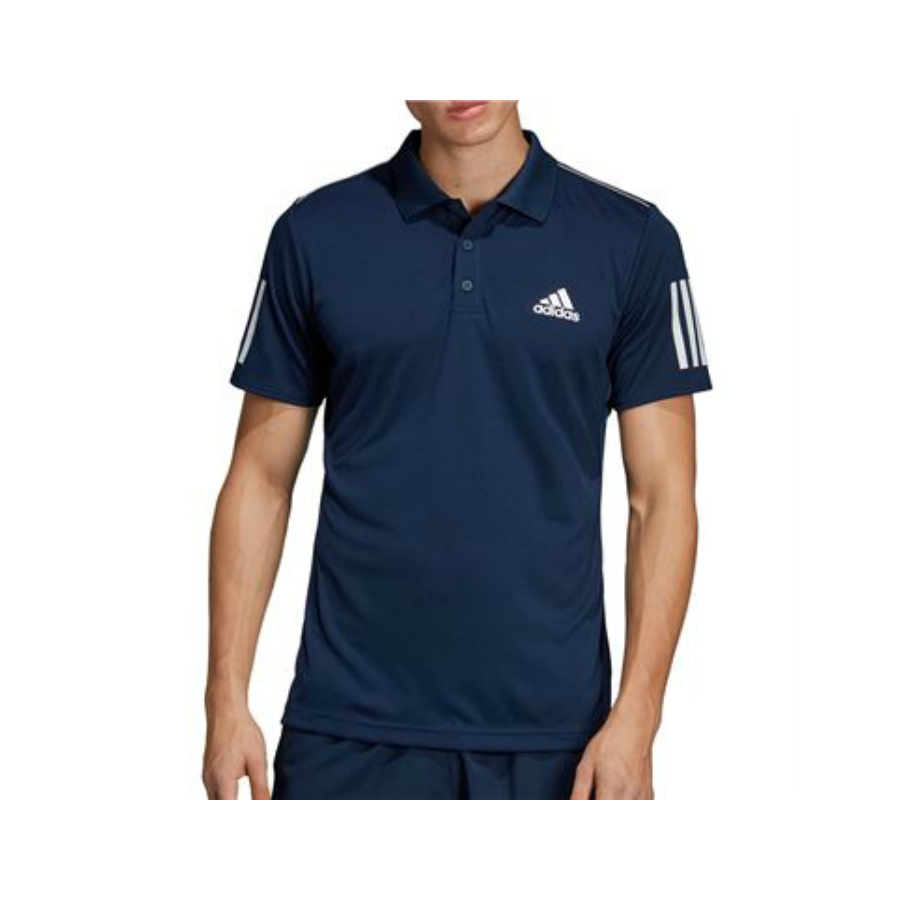 Adidas Club Tennis 3 Stripes Polo Shirt