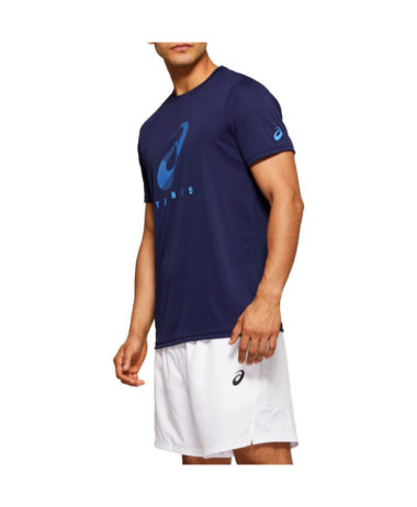 Asics Mens spiral Tennis T-Shirt 2020
