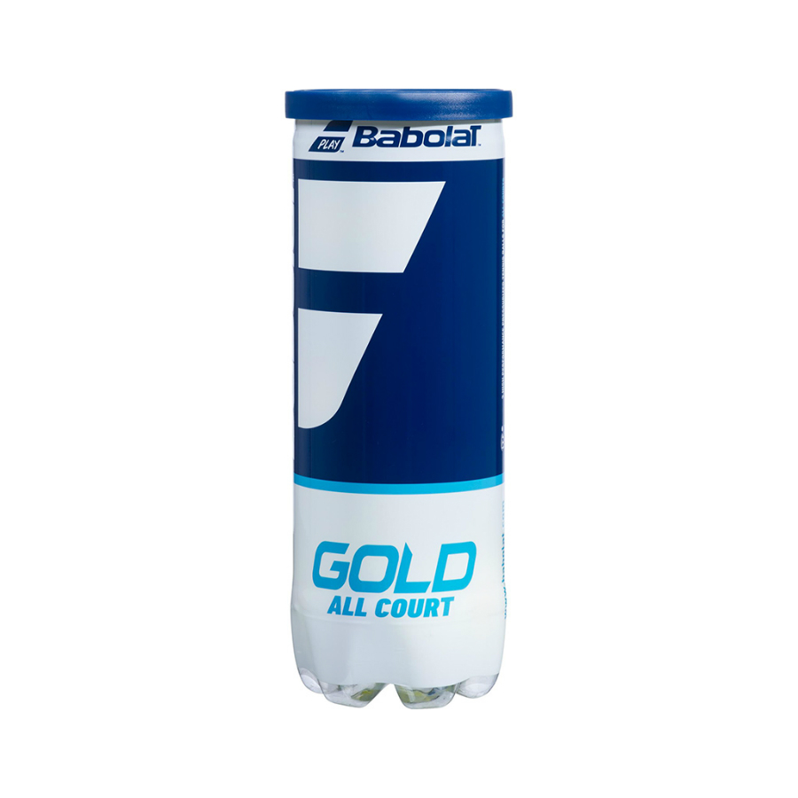 Babolat Gold All court tennis balls - 3 ball tube