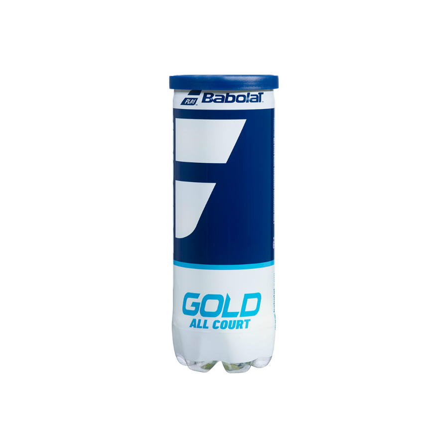 Babolat gold All Court tennis Balls - 3 x ball tube