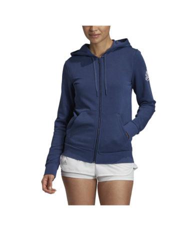 Adidas Tennis ladies hoodie - Indigo blue