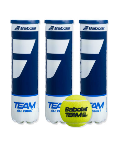 Babolat Team All Court Tennis Balls - 1 dozen
