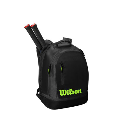 Wilson Team Racket Backpack - Black/Green