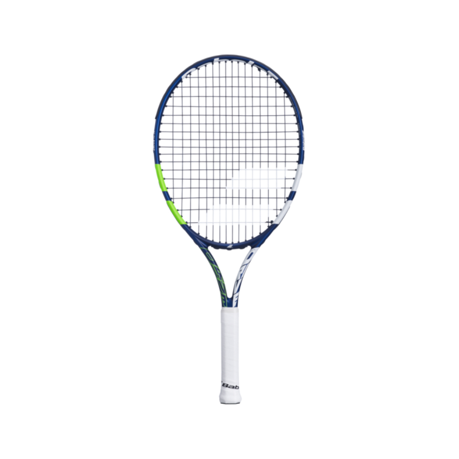 Babolat Drive 24 Inch Junior Tennis Racket - white / coral