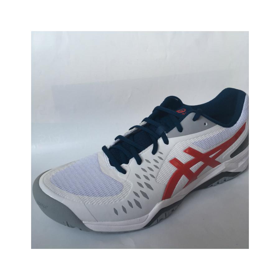 Asics Gel-Challenger 12 Mens Tennis Shoe - White/classic Red