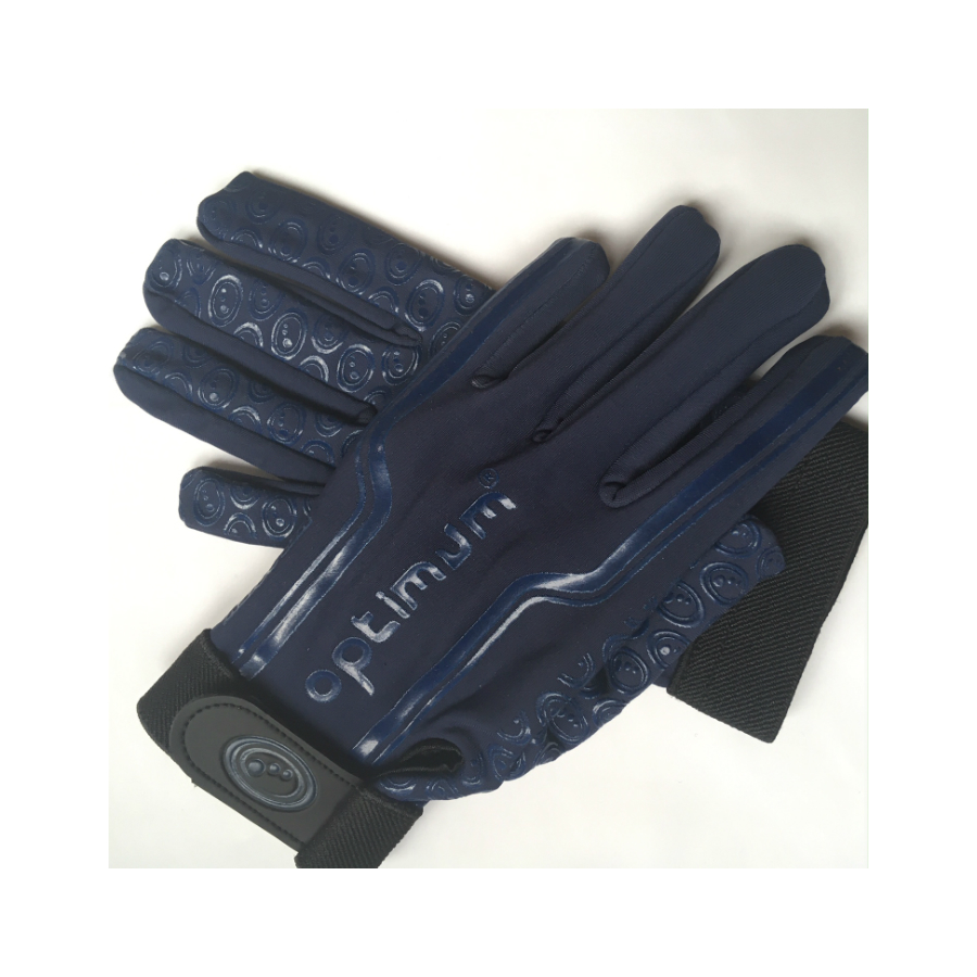 Optimum Thermal Tennis Gloves - Dark Blue