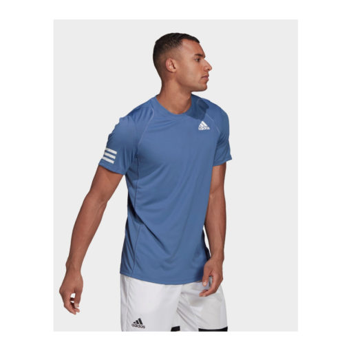 Adidas 3 stripe tennis tee