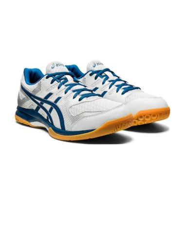 Asics Gel-Rocket 9 Womens Indoor Shoe Glacier Grey / Blue