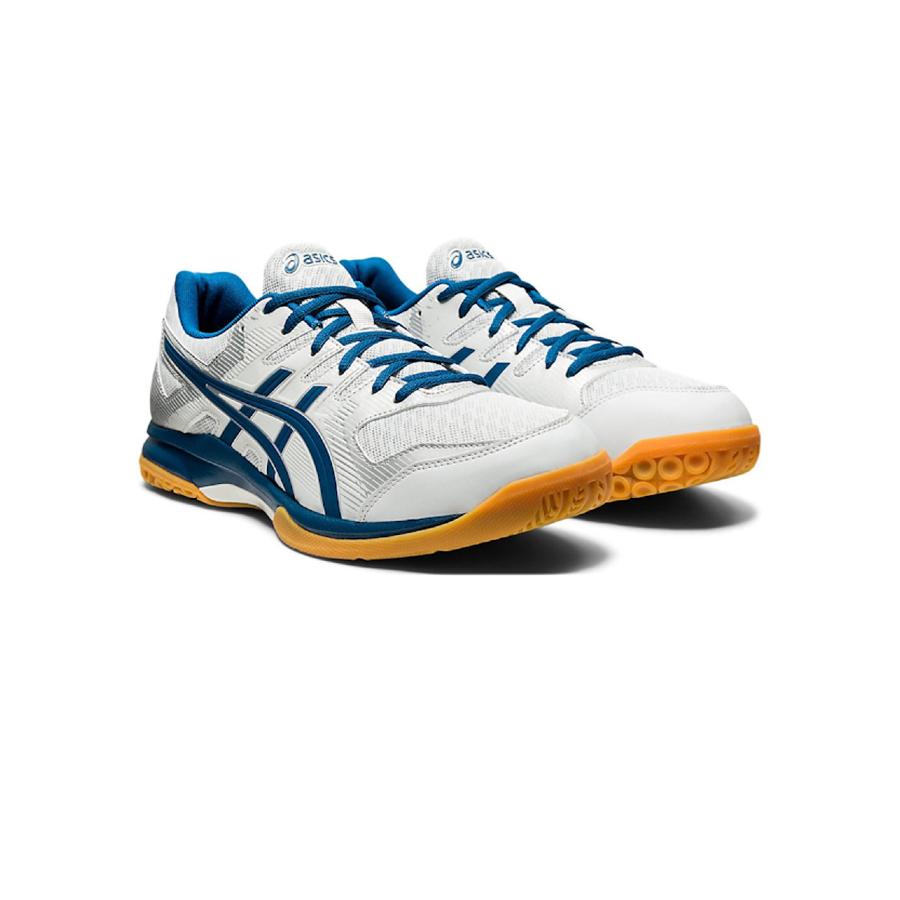 Asics Gel-Rocket 9 Womens Indoor Shoe Glacier Grey / Blue