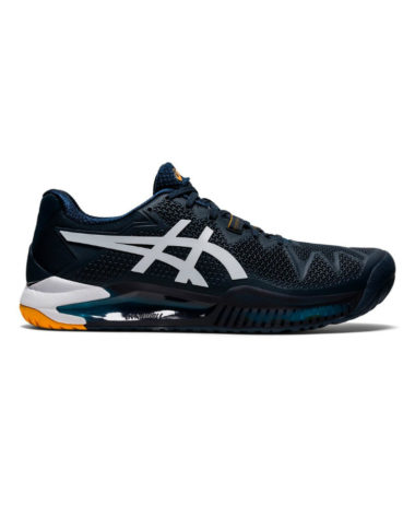 Asics Gel-Resolution 8 Mens Tennis Shoe French Blue White 2021