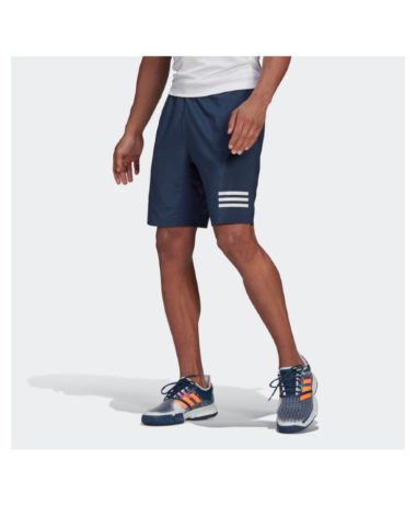 Adidas 3 Stripe Mens Tennis shorts - Crew navy