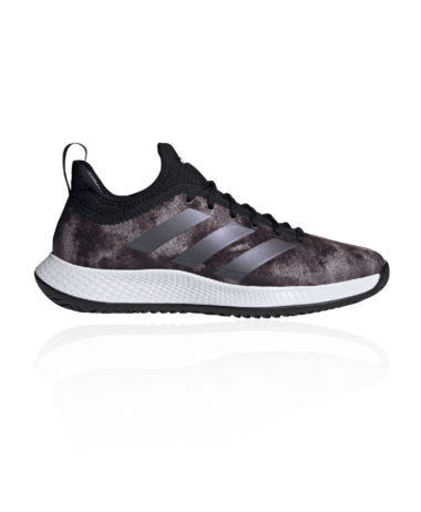 Adidas Defiant Generation Mens Tennis Shoes 2021 - Core Black/Grey
