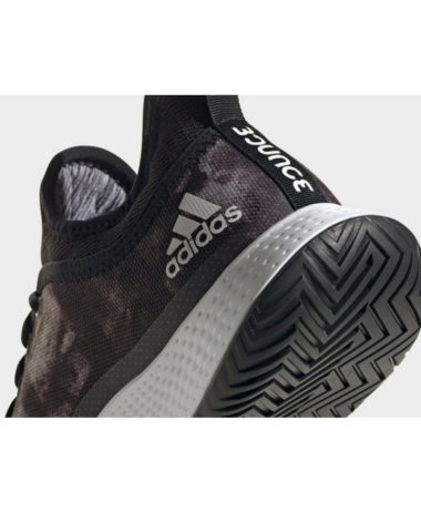 Adidas Defiant Generation Mens Tennis Shoe 2021 Black / Grey