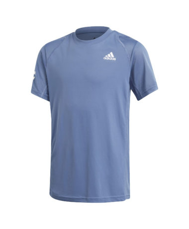 Adidas Boys club 3-Strip tennis tee 2021