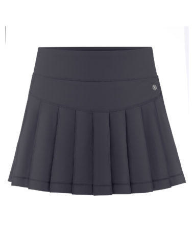 poivre blanc tennis ladies skirt 2021 - Carbonne Grey