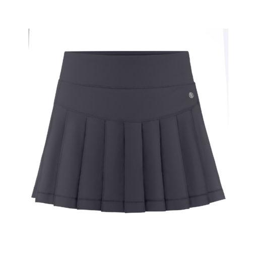Poivre Blanc Ladies Skirt Carbonne Grey