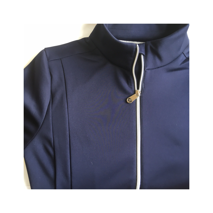poivre blanc tennis ladies jacket 2021 - Oxford Blue