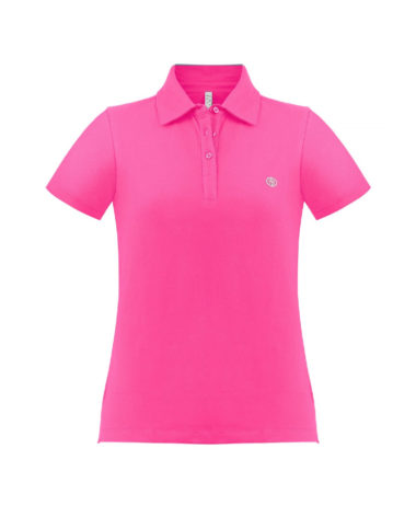 poivre blanc tennis ladies polo 2021 - Lady Pink