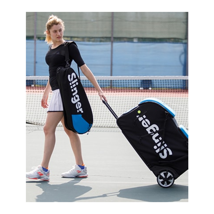 Slinger Bag Tennis Ball Machine