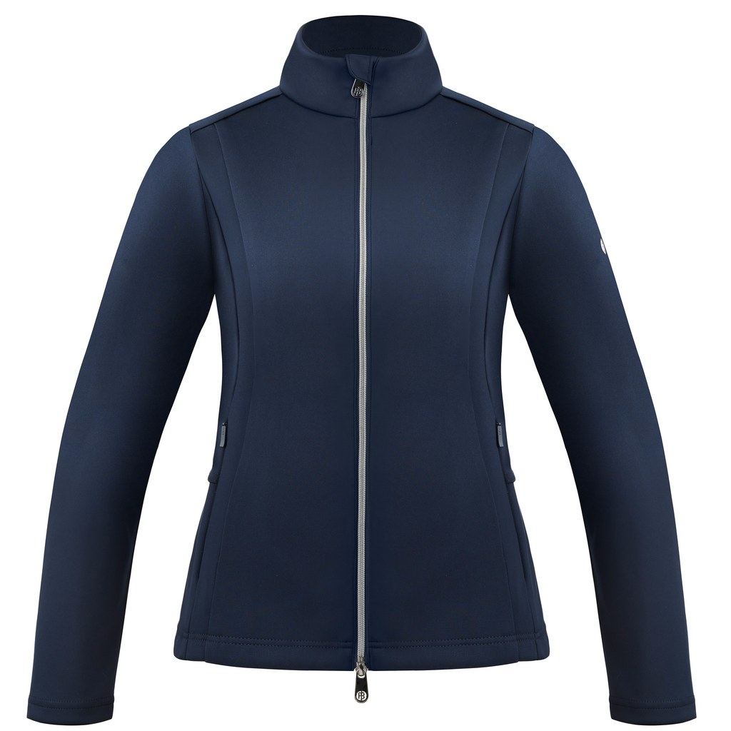 poivre blanc ladies tennis jacket 2021 - oxford blue