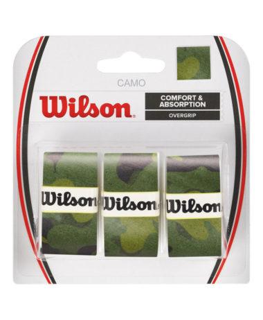 wilson pro overgrip green camo