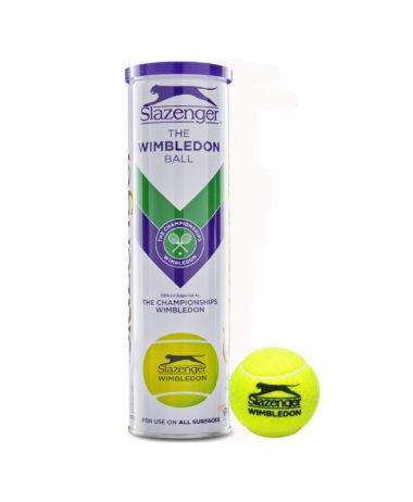 Slazenger Wimbledon Tennis Balls - 1 Tube (4Balls)