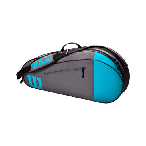 Wilson Team 3 Racket Bag – Grey_Blue