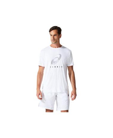Asics Mens Court Spiral Tennis T-Shirt